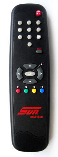customised hotel remote