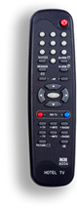 Example of a hotel remote