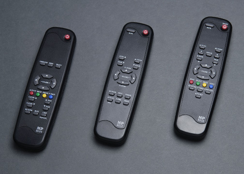 Projector remote controls